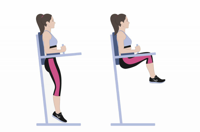 Killer Captain's Chair Exercises