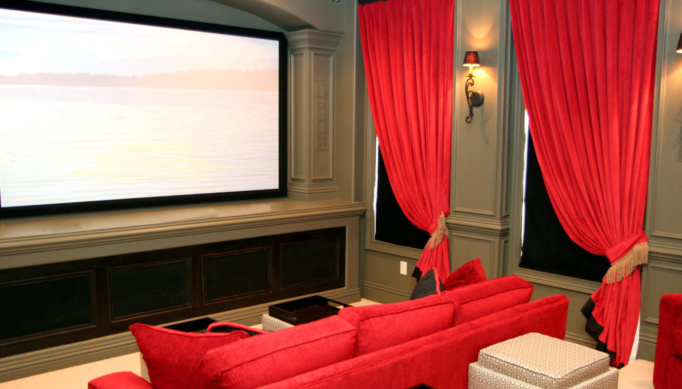 The 5 Best home theater curtains